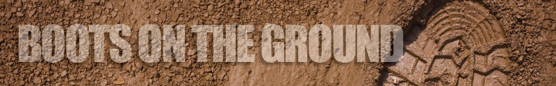 Boots on the ground header