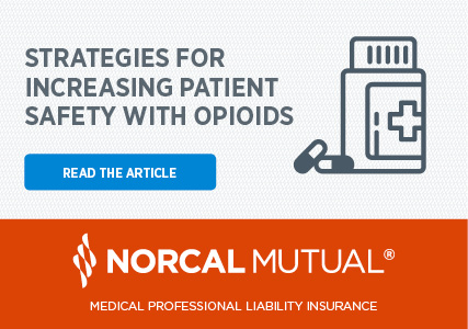 norcal mutual opioids advertisement
